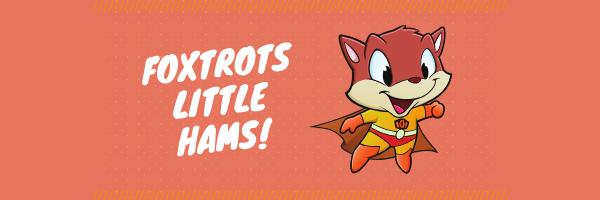 Foxtrots Little Hams! Email header